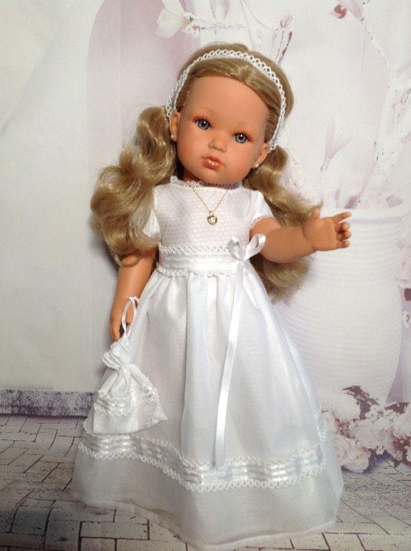"""Кукла Белла(5) """"Первое причастие"""" от Антонио Хуан(Antonio Juan Munecas).Срочно 5 тыс.руб.!!! / Игровые куклы / Шопик. Продать купить куклу / Бэйбики. Куклы фото. Одежда для кукол"""