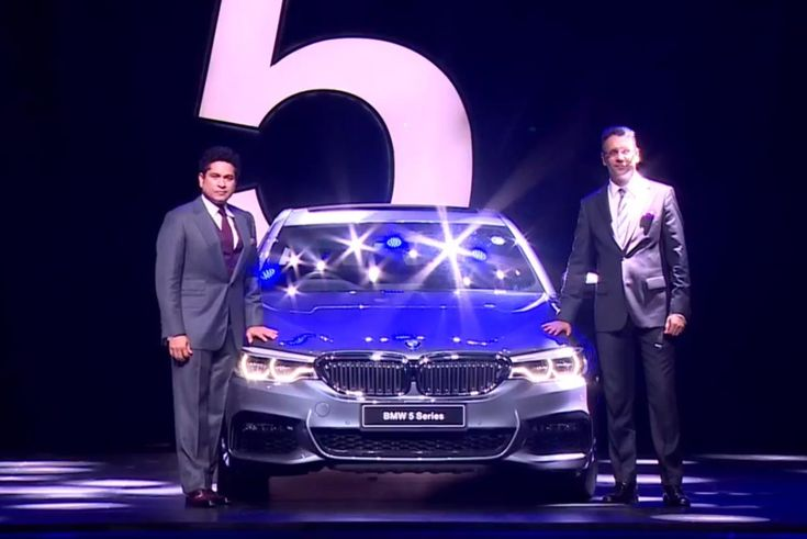 BMW India has launched the new 5 Series in the country. The all new BMW 5 Series was unveiled by the legendary cricketer Sachin Tendulkar.