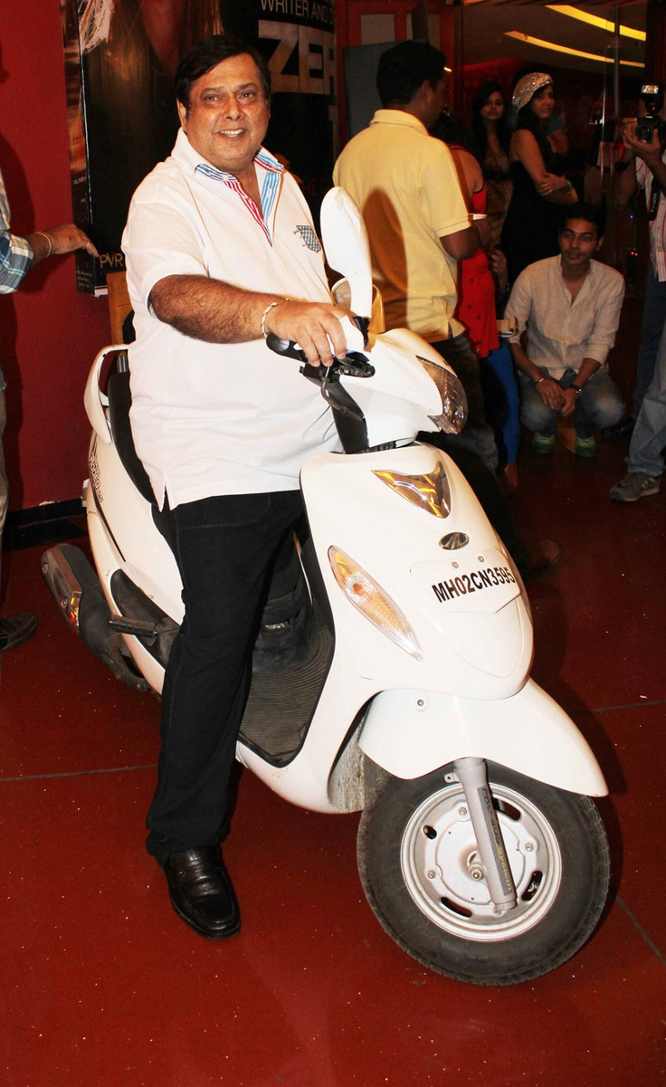 David Dhawan having a gala time at the music launch of Chashme Baddoor