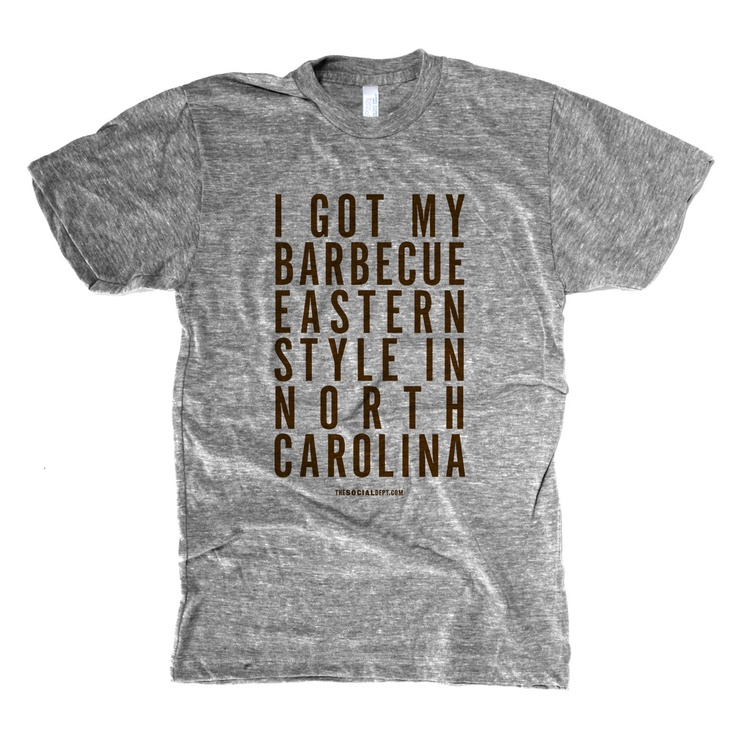 North Carolina BBQEastern Bbq The, Bbq Men, Bbq Visitsalisburyrowan, Eastern North, Hells Yea, Men Tees, Bbq The True, North Carolina Bbq, Eastern Style