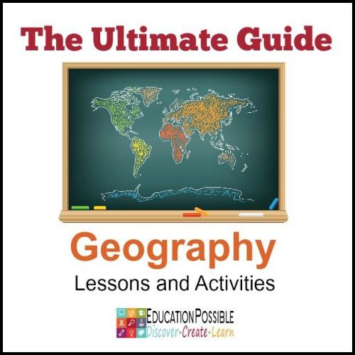 The Ultimate Guide to Homeschool Geography