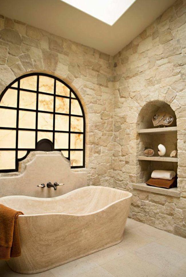 Niches murales, 10 idées pour votre salle de bain | Pinterest ...