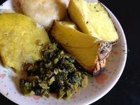 Callaloo and Saltfish Recipe (Jamaica)