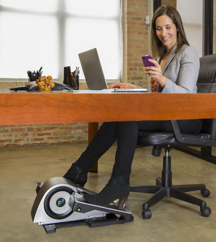 Cubii Under Desk Elliptical Is Designed With The Optimal Angles That Will Allow