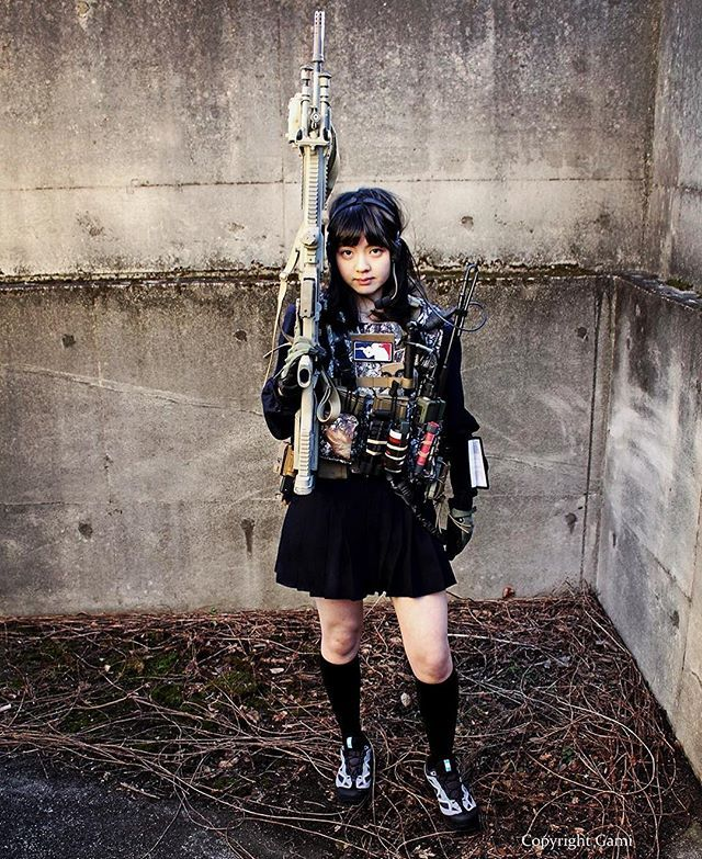 "WEBSTA @ blueswallowtail - Show me to the higher place... "" THE MAN STOPPER "" High-school Girl #japon #japan #tokyo #TCTKnives #TCT  #puncher  #Pushdagger #concealedcarry #operator #tacticalknives #dagger  #backupweapon #compositknife #kali #fnhusa #FNH #fnherstal #mk20ssr #308win #308 #realtreecamo  #DMR #sniper #marksman #jk #highschool #highschoolfriends #highschoolgirls #combatives #tacticalgear"