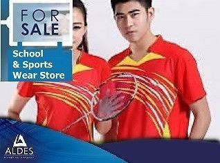 The retail clothing business which supplies schools and the community with sport accessories and school wear for over 30 years. This well known business is the main distributor of sport wear and school uniforms in the local community and with a golden reputation the business is looking for a new owner with fresh and unique ideas to lead the business into the future. This great opportunity is awaiting your call.
