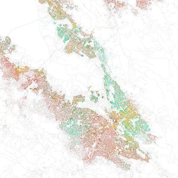 san jose demographics 2010 maps of racial and ethnic