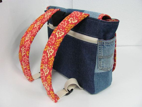 Child's Backpack  Back to School  Messenger by daisylanedesign, $65.00
