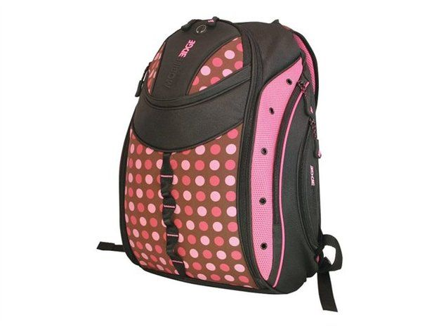 Mobile Edge Women's Express Backpack, Pink Circle MEBPEX2