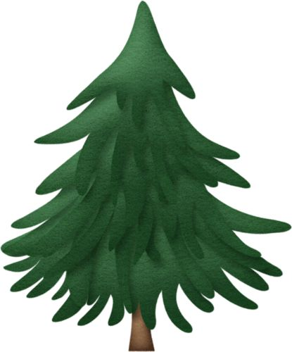 Pine tree template pinterest trees forests and winter - Sapin clipart ...
