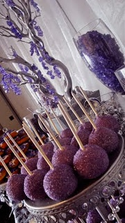 Fun purple candy bar!
