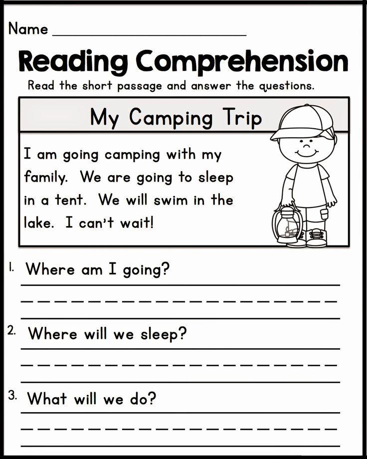 Reading Worksheets For Kindergarten Grade In 2020 1st Grade Reading Worksheets Reading Comprehension Worksheets Kindergarten Reading Worksheets