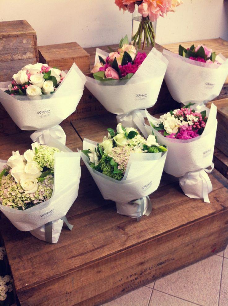 An array of cute posies with #summerFlower #hydrangea #florist #mydarlingflower