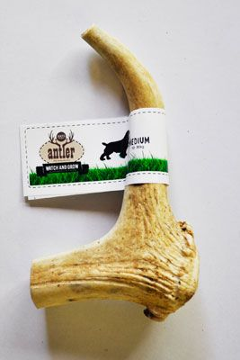 This all natural treat is cut and split from real deer antler that has been naturally shed, not harvested! Delicious and nutritious, it provides a long lasting tasty chew for your dog. Containing minerals essential for healthy bones and joints, and helping to keep your canine's canines clean! From $10.95