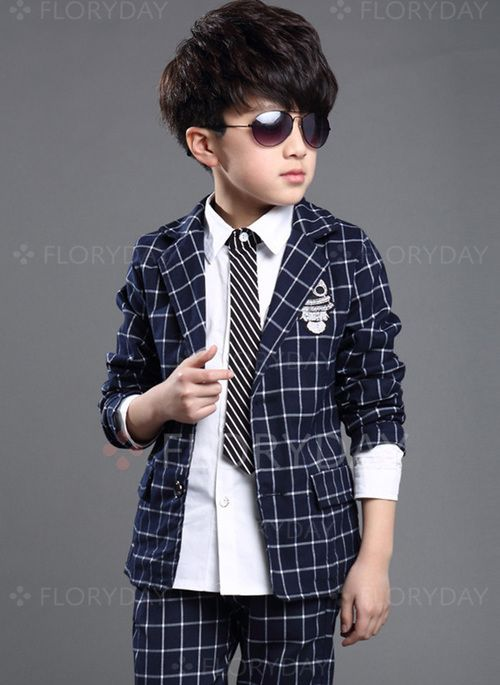 661e7328d Boys' Clothing Sets - $38.99 - Boys' Plaid Going out Long Sleeve Clothing  Sets (30165285358)