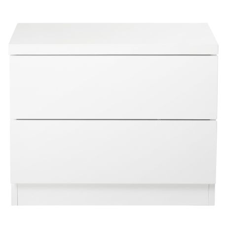 Aspect 2 Drawer Bedside Table | Freedom Furniture and Homewares