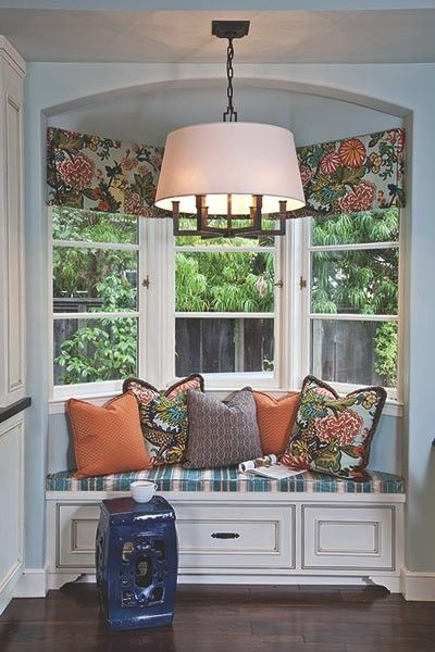 25 best ideas about bay window benches on pinterest bay for Best place for window treatments