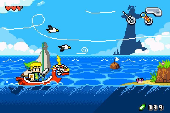 Top 43 des demakes de jeux vidéo, les remakes pour les fans de retrogaming | Wind Waker, Zelda