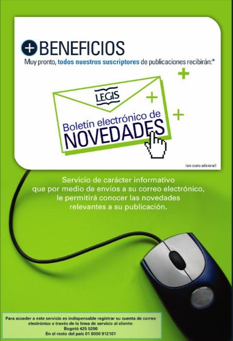 Flyer LEGIS - Año ©2008