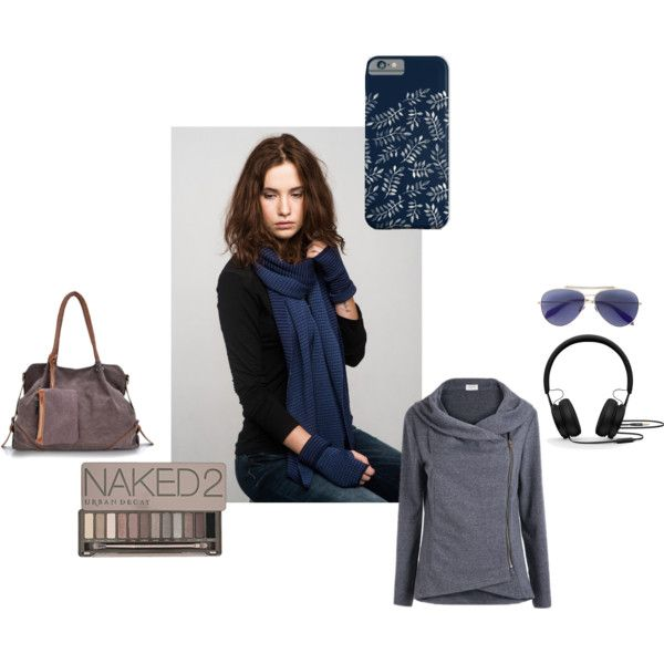 Blue Winter by anna-suchodolska on Polyvore featuring Alexander McQueen, Beats by Dr. Dre and Urban Decay