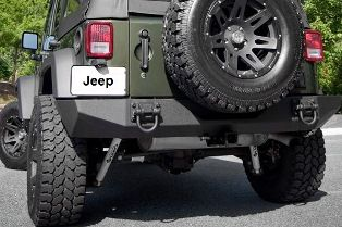 jeep bumpers tire carriers roof racks and towing. Black Bedroom Furniture Sets. Home Design Ideas