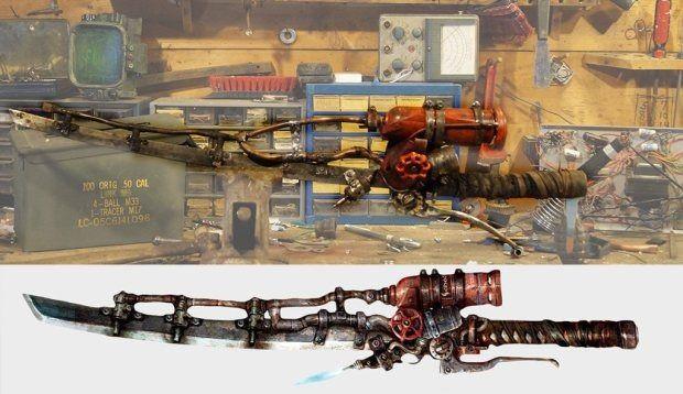 海外ファンが『Fallout 4』に登場する武器を実際に制作!―燃える剣「シシケバブ」 | Game*Spark - 国内・海外ゲーム情報サイト