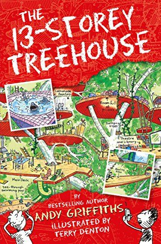 The 13-Storey Treehouse (The Treehouse Books) by Andy Griffiths http://www.amazon.co.uk/dp/1447279786/ref=cm_sw_r_pi_dp_YdDWvb0XS7SKH
