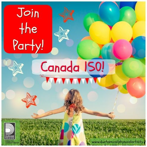 It is an extra special year; Canada is celebrating its 150th birthday! What better way than to highlight the importance of physical activity, diversity of sport, weather, activity and fun of course! Check out the 150 Playlist from ParticipACTION.