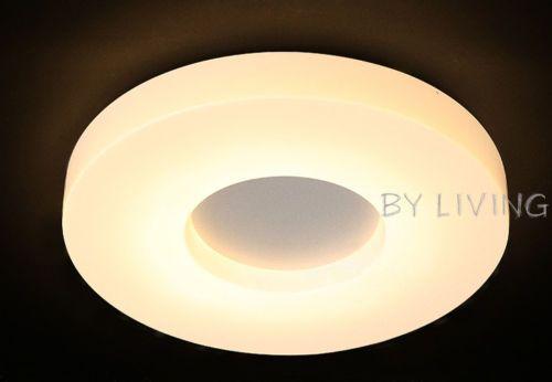 White-Modern-Circular-round-12W-24W-LED-Living-bedroom-Ceiling-light-Warm