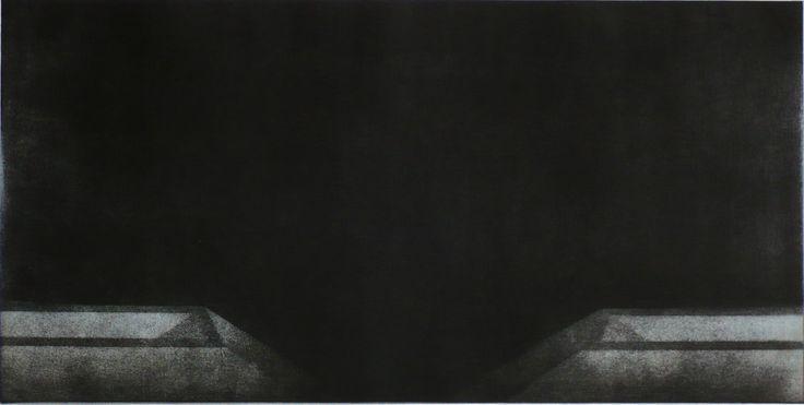 Tomasz Daniec ~ The Outskirts IX / aquatint / 2009