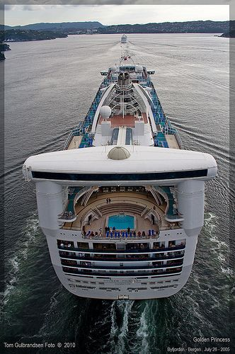 Cruising on Golden Princess #CruiseShip from #PrincessCruises