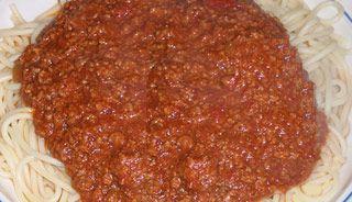 Sauce spaghetti (mijoteuse) | .recettes.qc.ca
