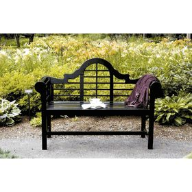 ACHLA Designs Lutyens Bench Black Lacquer FREE SHIPPING $259.95 cheap