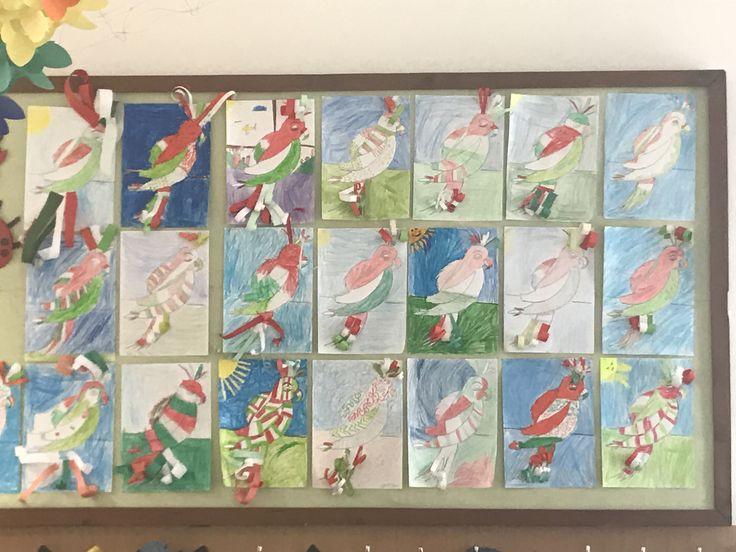 Március 15 Nemzeti színben a madarak #marcius15 #education #artschool #studentlife #oktatás #művészet #grafika