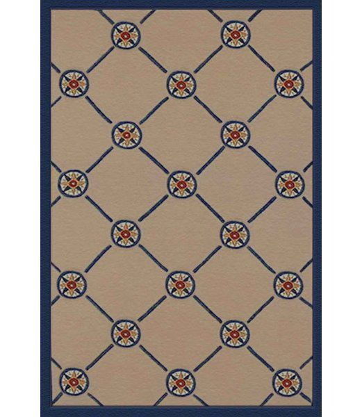 You'll love the Beach Rug Ivory/Blue Compass Novelty Rug at Wayfair - Great Deals on all Rugs products with Free Shipping on most stuff, even the big stuff.