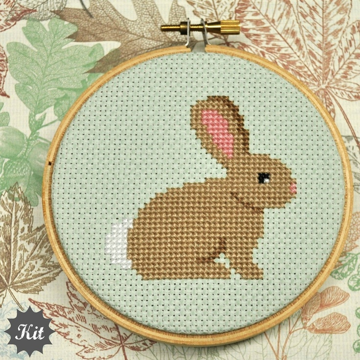 Bunny DIY Cross Stitch