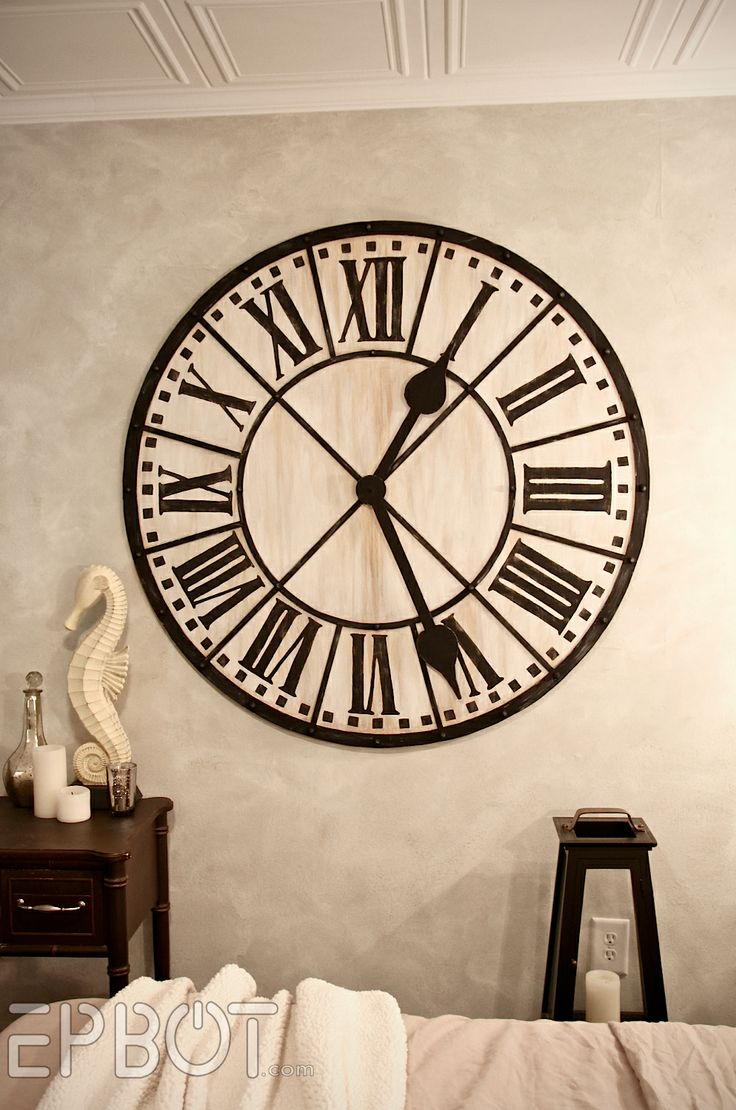 16 best giant wall clock images on pinterest giant wall clock how to make a giant diy giant tower wall clock one day i am going to tackle this tutorial amipublicfo Image collections