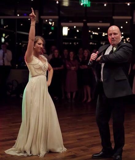 Dieses Video vom Hochzeitstanz von Vater und Tochter begeistert alle