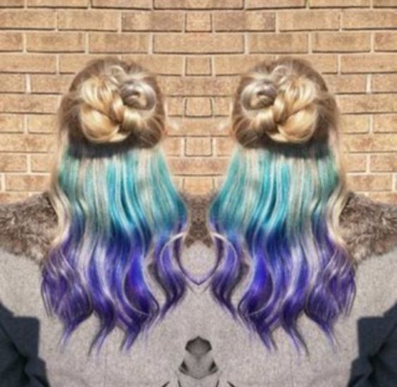 13 Underlights Hair Color Ideas That Are Cooler Than Anything From The 2000′s