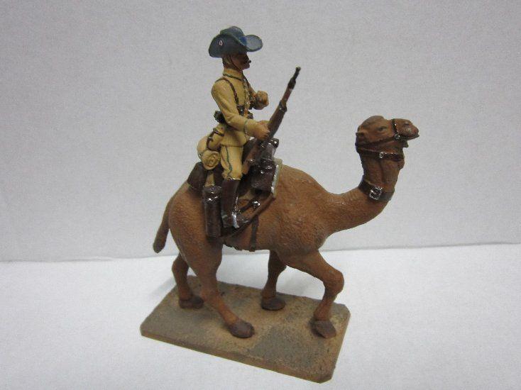 antique safari toys | ... Toys » CAVALIER Metallfigur Kamelreiter Afrika Safari 11 cm 1972