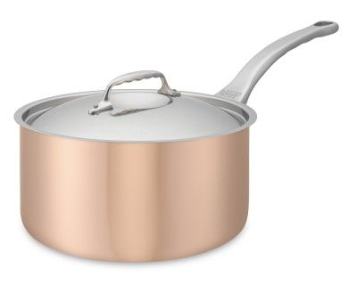 de Buyer Prima Matera Copper Saucepan, 3 1/2-Qt.