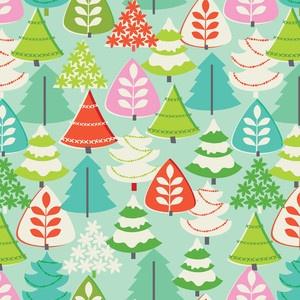 Blend, Tinsel, Blue XMas Tree, Christmas Holiday 50s Repro Retro Aqua Pink Green | eBay