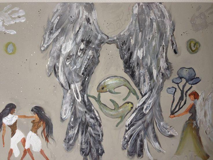 Een drie eenheid schilderij. | tips4familydotnl