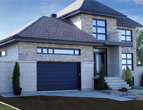 1000 id es propos de portes de garage sur pinterest. Black Bedroom Furniture Sets. Home Design Ideas