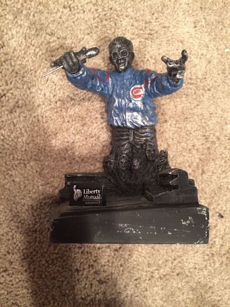 harry caray commemorative statue nib - chicago cubs from $2.5