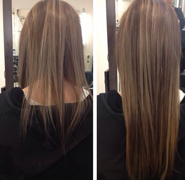 Hair Extensions Before And After Hair Extensions Before