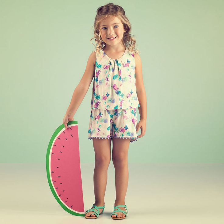 Watermelon look >>SUMMER<< #OFFCORSS #FashionKids #Summer