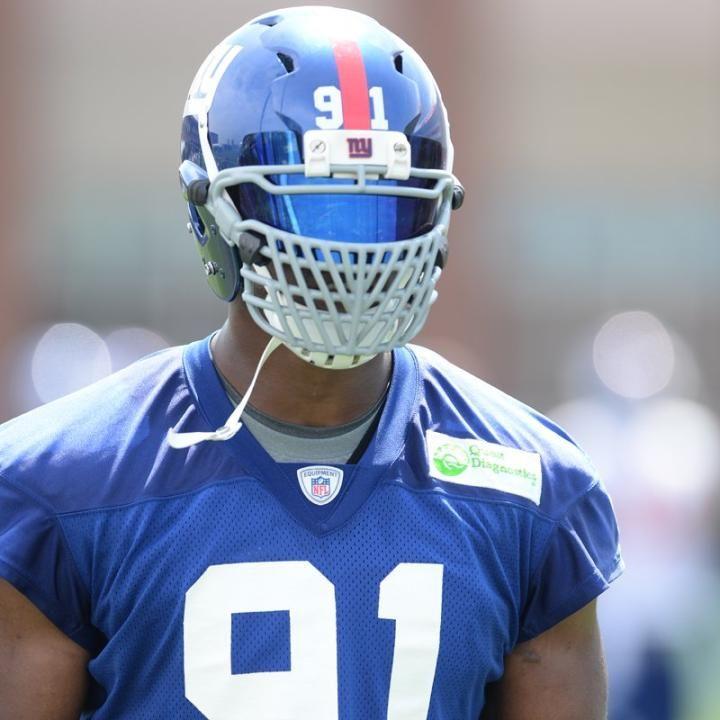 Jason Pierre Paul Face Mask
