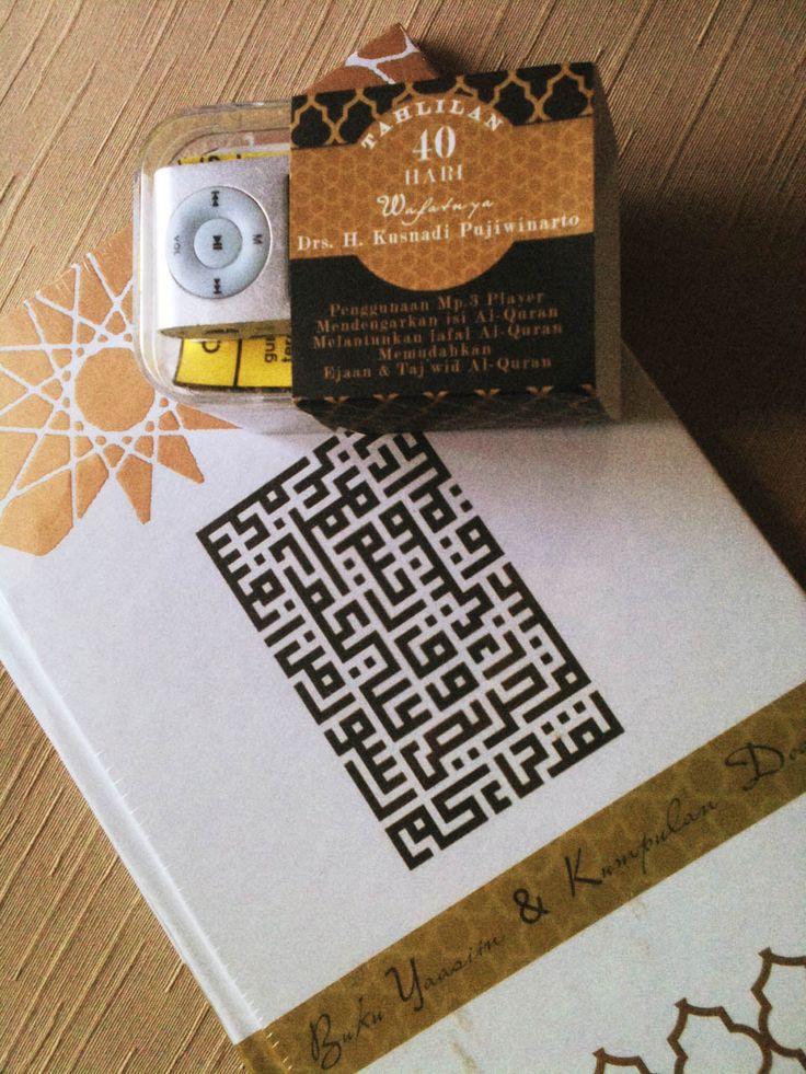 Set Buku Yasin utk Tahlilan + MP3 isi ayat-ayat Al-Qur'an  Email Order : 8thtree@gmail.com  #Maroko#Buku#Yasin