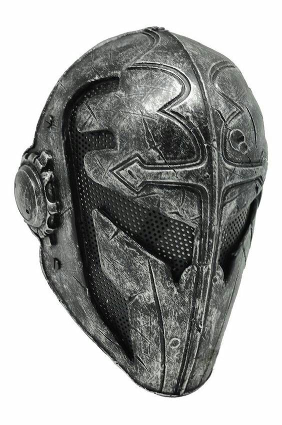 Steel fantasy helmet